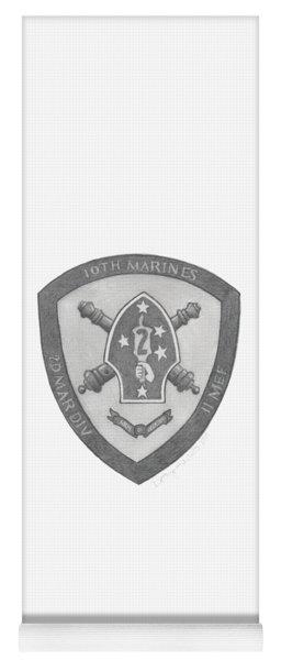 10th Marines Crest Yoga Mat