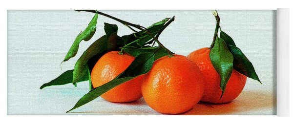 11--01-13 Studio. 3 Clementines Yoga Mat