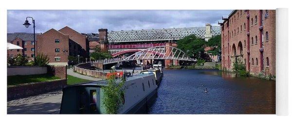 13/09/18  Manchester. Castlefields. The Bridgewater Canal. Yoga Mat