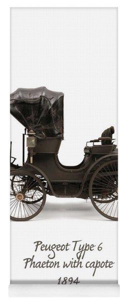 1894 Peugeot Type 6 Yoga Mat