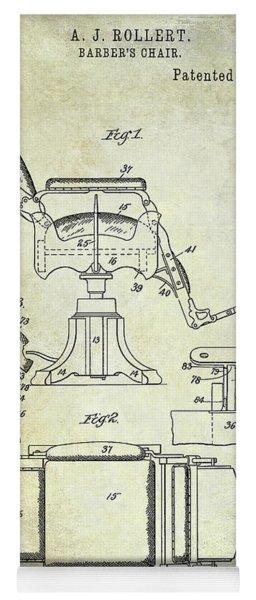 1898 Barber Chair Patent  Yoga Mat