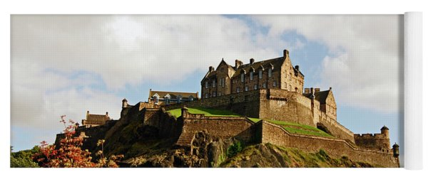 19/08/13 Edinburgh, The Castle. Yoga Mat