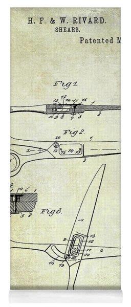 1906 Barbers Shears Patent Yoga Mat
