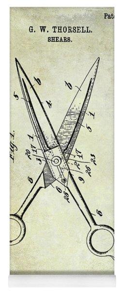 1909 Barbers Shears Patent Yoga Mat