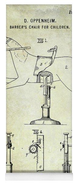 1920 Childrens Barber Chair Patent Yoga Mat