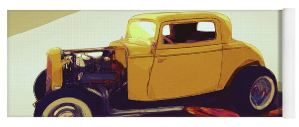 1932 Ford Coupe Yoga Mat