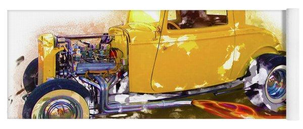 1932 Ford Hotrod Yoga Mat