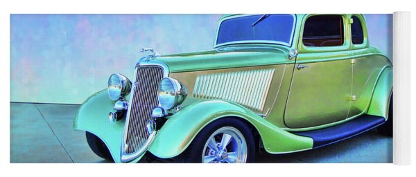 1934 Green Ford Yoga Mat