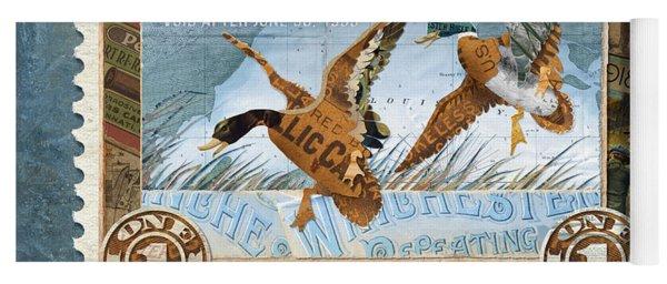 1934 Hunting Stamp Collage Yoga Mat