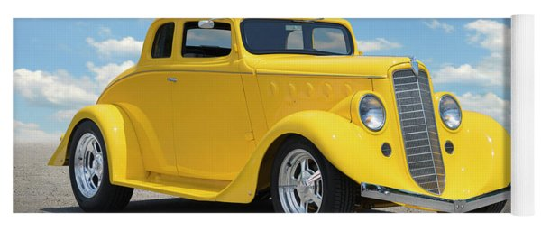 1935 Willys Coupe Yoga Mat