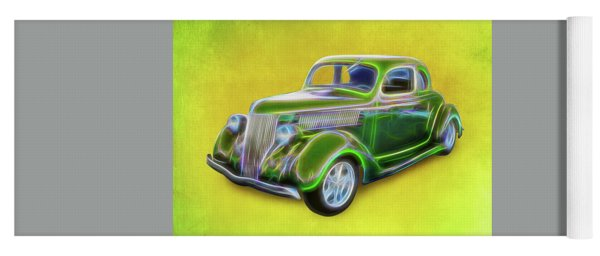 1936 Green Ford Yoga Mat