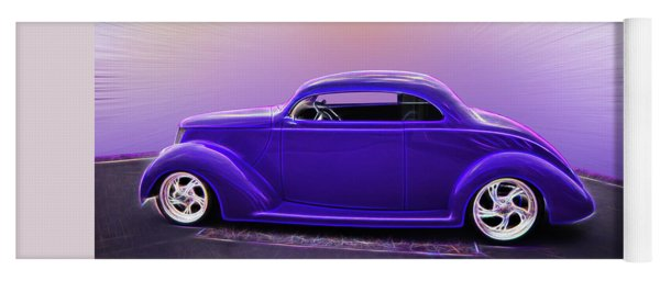 1937 Ford Coupe Yoga Mat