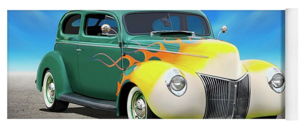 1940 Ford Coupe Yoga Mat