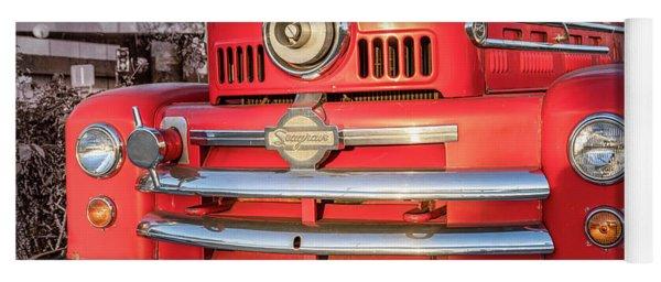 1952 Seagrave Fire Truck  Yoga Mat
