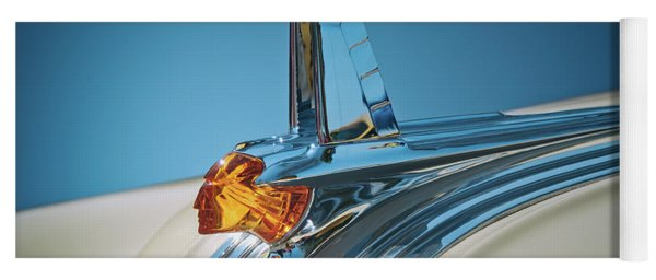 1953 Pontiac Hood Ornament Yoga Mat