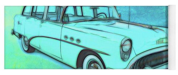1954 Buick Wagon Yoga Mat