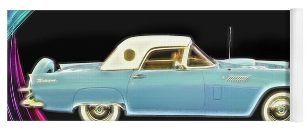 1956 Thunderbird Yoga Mat
