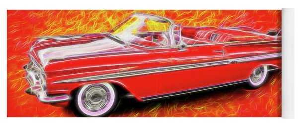1959 Chevy Convertable Yoga Mat