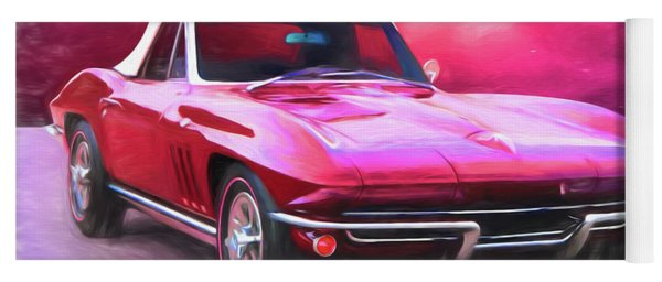 1965 Red Vette Yoga Mat