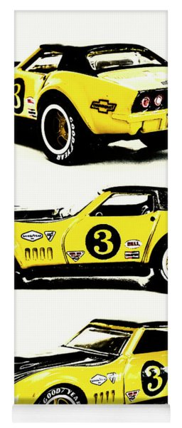 1969 Chevrolet Copo Corvette Yoga Mat