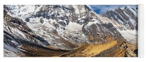 Annapurna South Peak In Nepal Yoga Mat