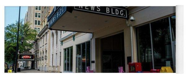 Broad Street Downtown Augusta Ga Yoga Mat