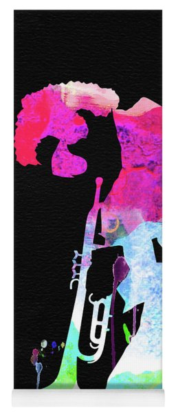 Miles Watercolor Yoga Mat