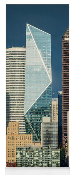 Modern Architecture In City, Seattle Yoga Mat