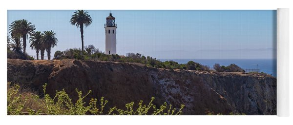 Point Vicente Lighthouse Yoga Mat