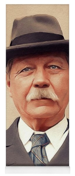 Sir Arthur Conan Doyle, Literary Legend Yoga Mat