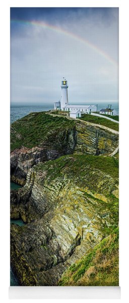 South Stack Lighthouse Yoga Mat