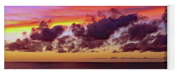 Yoga Mat featuring the photograph Sunset by Tony Murtagh