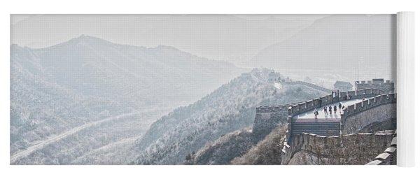 The Great Wall Of China Yoga Mat