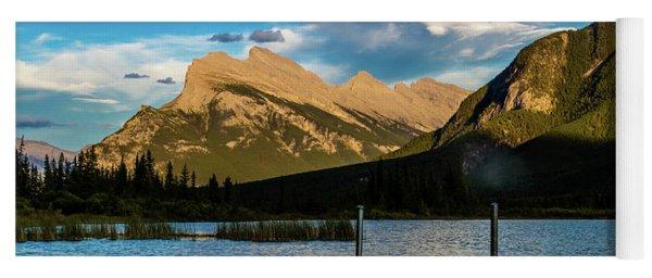 Vermillion Lakes, Banff National Park, Alberta, Canada Yoga Mat