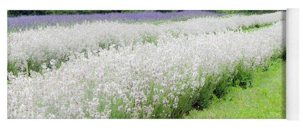 White Lavender  Yoga Mat