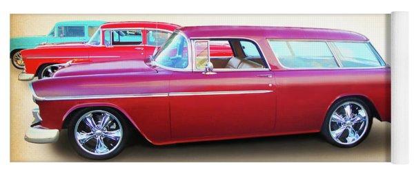 3 - 1955 Chevy's Yoga Mat