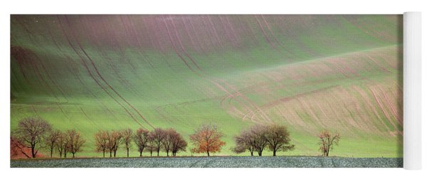 Autumn In South Moravia 3 Yoga Mat
