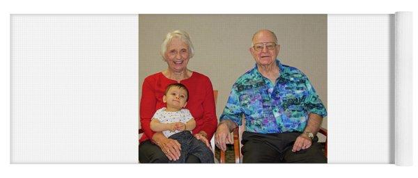 Family Portrait Yoga Mat