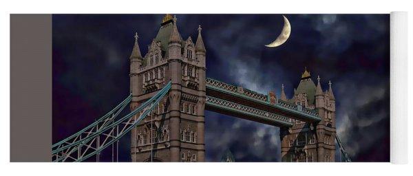 London Tower Bridge Yoga Mat