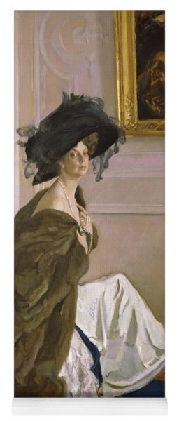 Portrait Of Princess Olga Orlova Yoga Mat