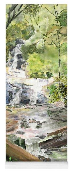 Set Rock Creek Falls Yoga Mat