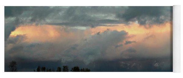 Colossal Country Clouds Yoga Mat