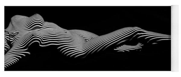 5298 Zebra Woman H Yoga Mat