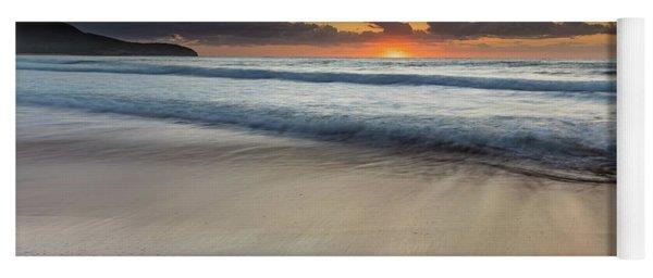 Sunrise Beach Seascape Yoga Mat