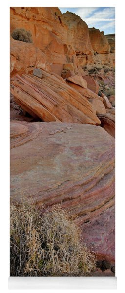 Valley Of Fire State Park Yoga Mat