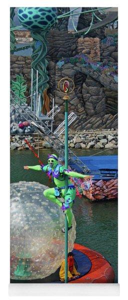 A Colorful Show At Seaworld Yoga Mat