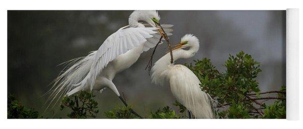A Couple Of Birds Yoga Mat