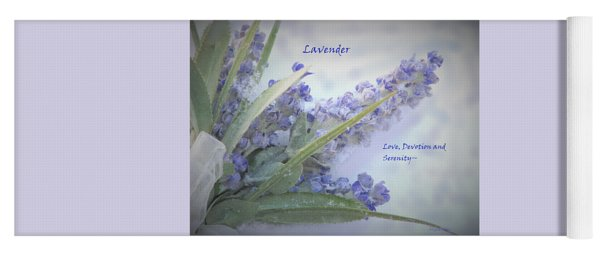 A Gift Of Lavender Yoga Mat