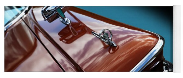 Yoga Mat featuring the photograph A New Slant On An Old Vehicle - 1959 Edsel Corsair by Debi Dalio