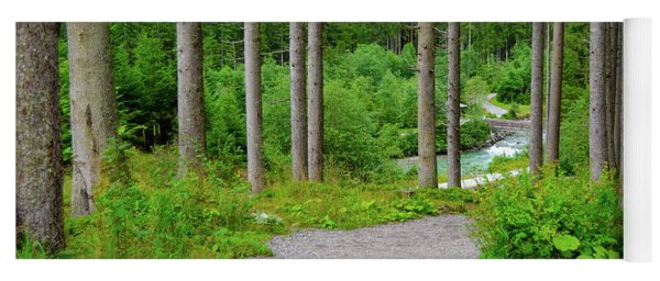 A Path To The River Yoga Mat